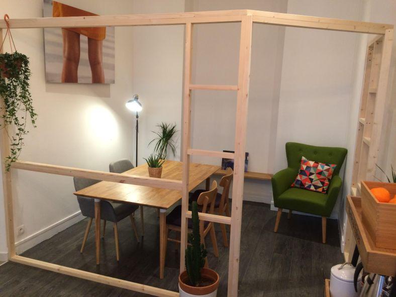 Grand Tour la cabane /.open space / coin meetup/coworking/pause café